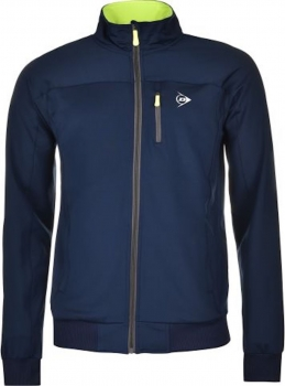 Dunlop Jungen Club Trainingsjacke navy-volt