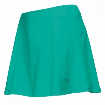 Wilson Performance Skirt Tennisrock Damen jadegrün