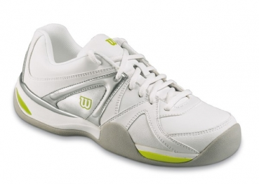 Wilson Trance Impact Carpet Hallen Tennisschuhe Indoor Damen weiss-lime