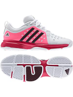 Adidas Damen Tennisschuhe Classic Bounce weiss-pink