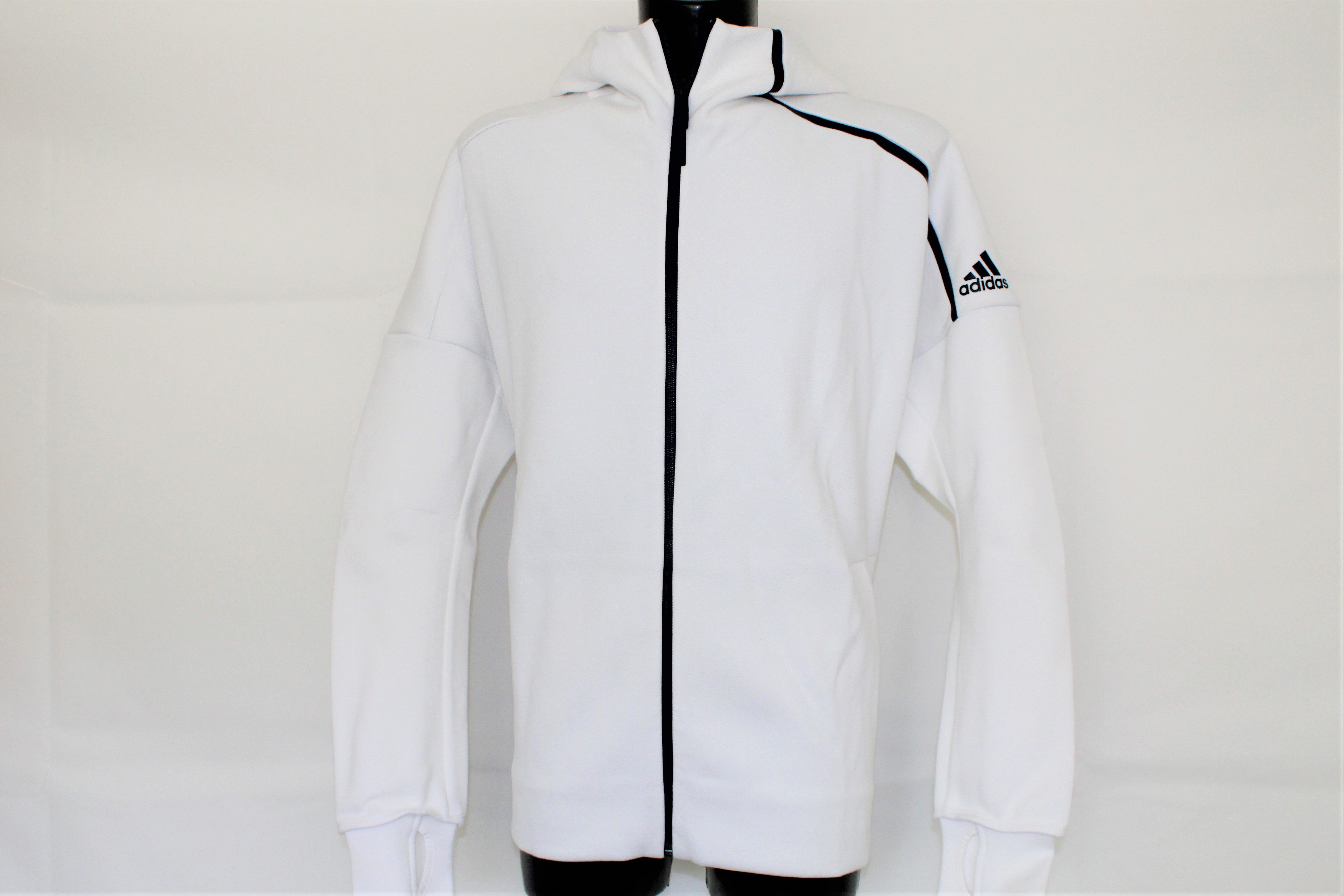 Herren Adidas Adidas Strickjacke Strickjacke Herren Weiß