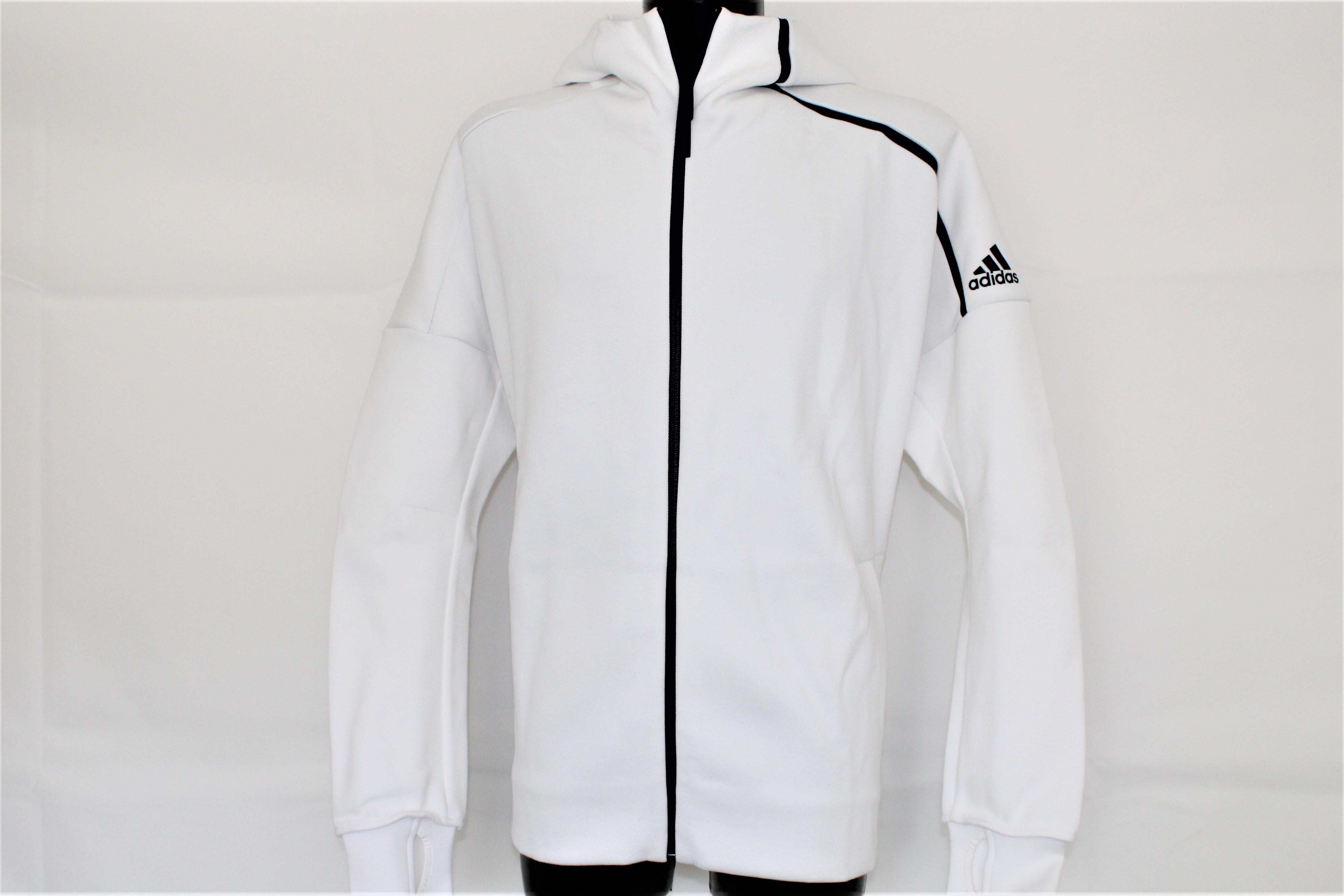 eHoody Herren Weiss Zip Z Navy Adidas Jacke n 354jqcRLA