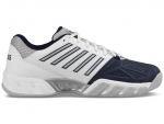 K-Swiss Big Shot Light 3 Herren Tennisschuhe weiss-navy Carpet Teppich Indoor